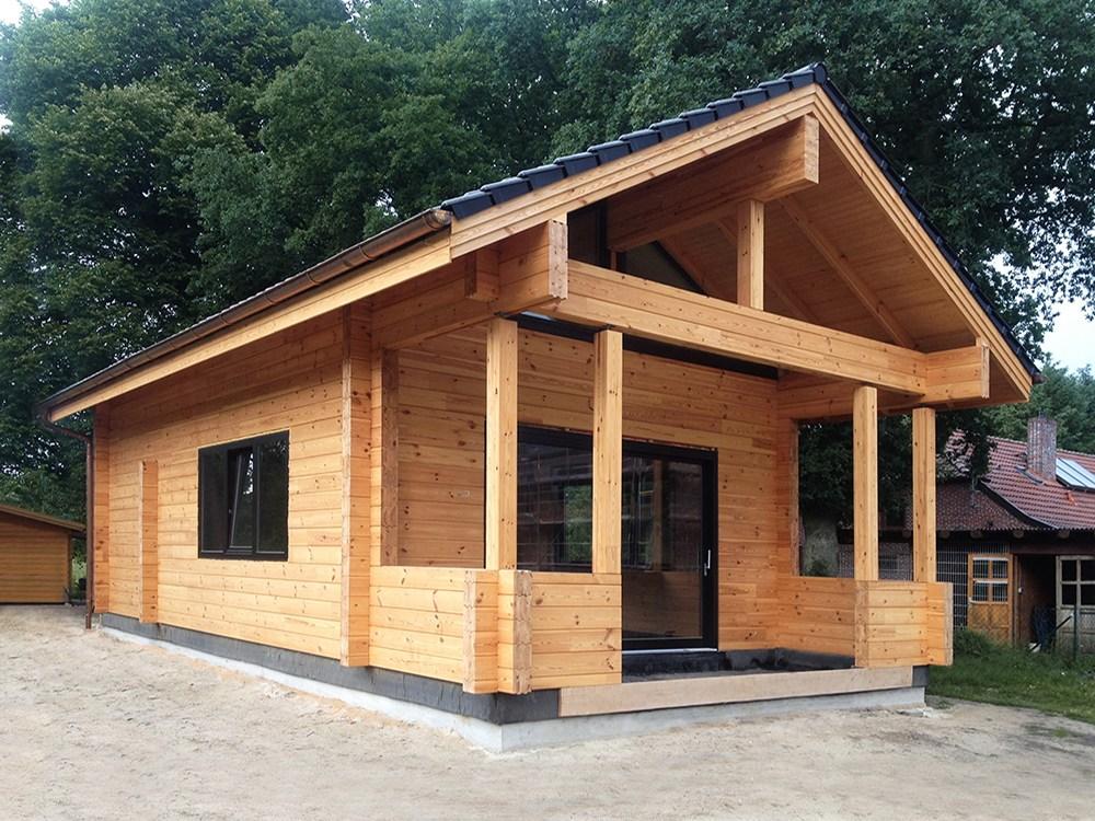 Дома из бруса под ключ - готовый проект